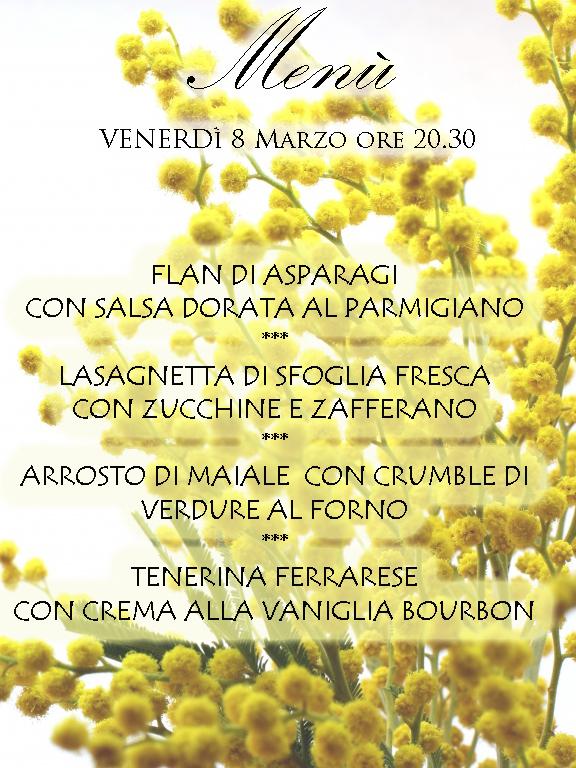 Festa della donna in agriturismo a Ferrara