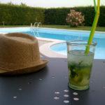 Vista piscina mojito