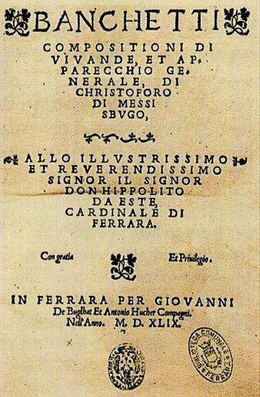 Messisbugo Banchetti