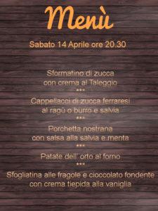 Agriturismo con cucina a Ferrara