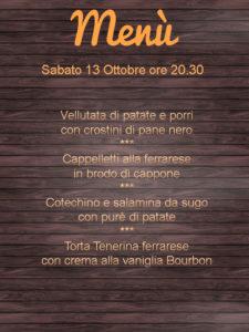 Agriturismo Ferrara con cucina