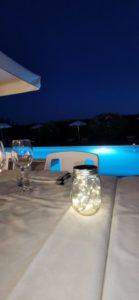 ristorante a bordo piscina
