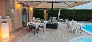 ristorante all' aperto Ferrara
