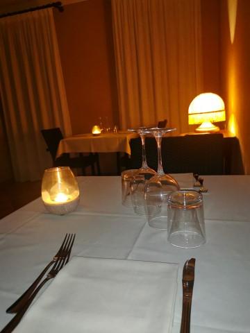 cena a lume di candela agriturismo ferrara