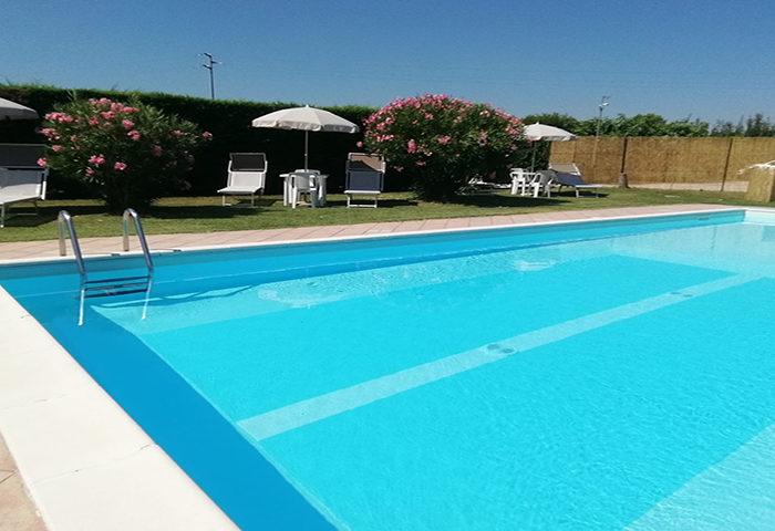 Agriturismo con piscina a Ferrara